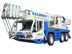Lego model of Demag All Terrain Crane