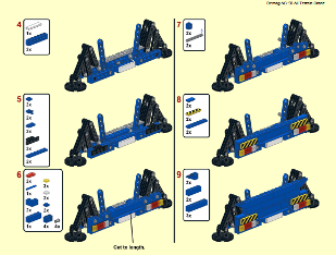 Lego All Terrain Crane building instructions