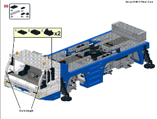 Lego Telescopic Crane building instructions