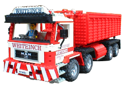 Lego Roll On/Roll Off Hook Lift Skip Container Tipper Truck