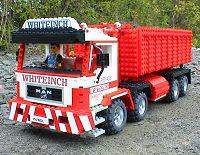 lego hook lift truck